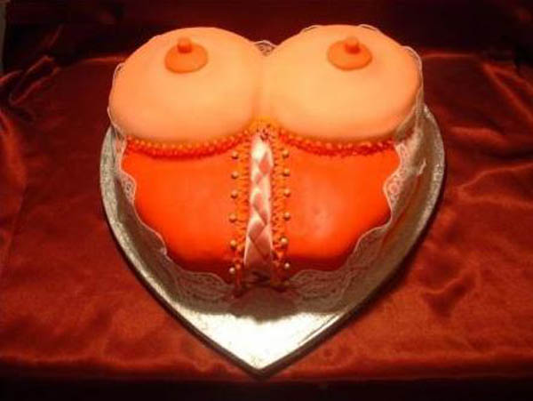 Cake for Men - a cool shaped cake, ideal for mens birthday