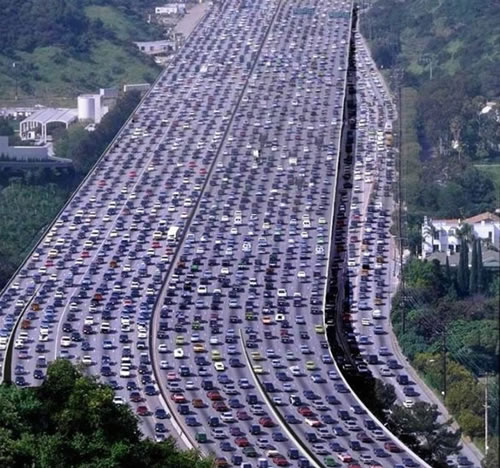 Heavy Traffic - why not buy yourself another car