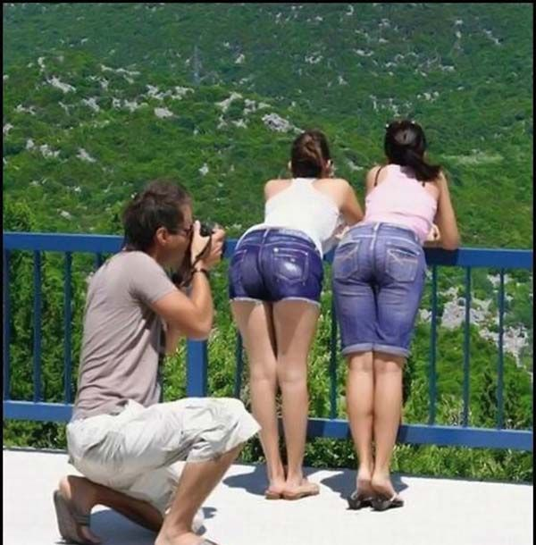 naughty photographer   guess what is the guy shooting