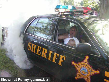 Sheriff Car - Adult funny photos police vegicle orgy