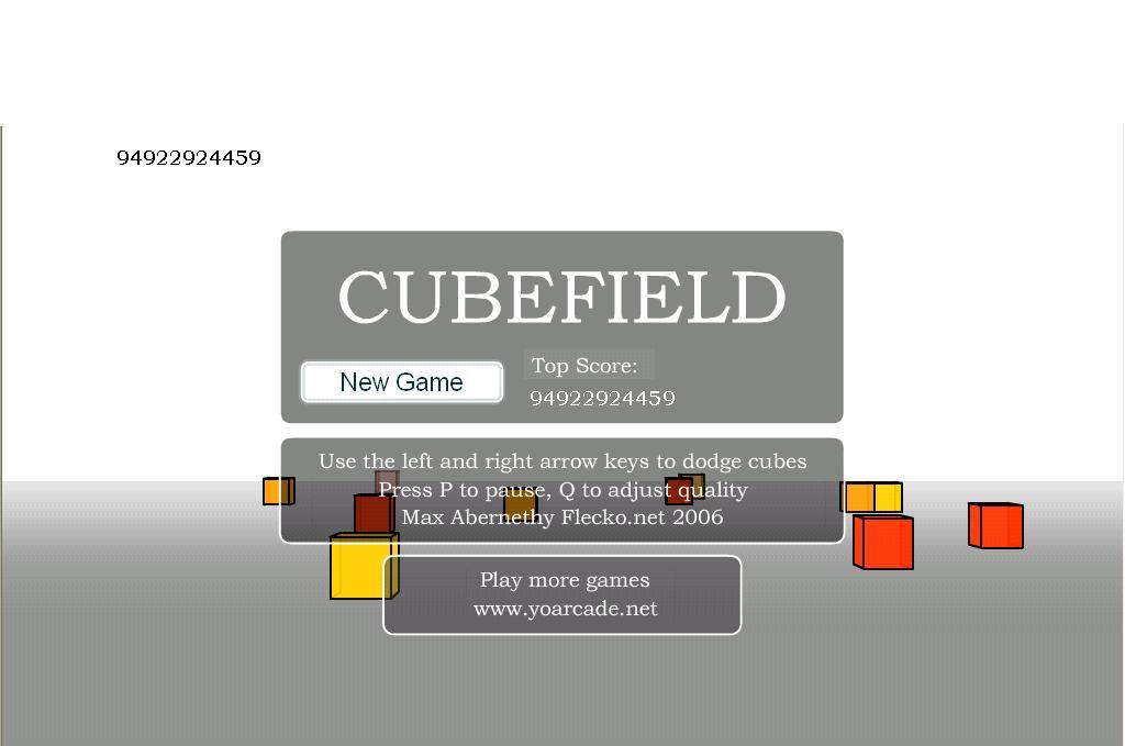 cubefield