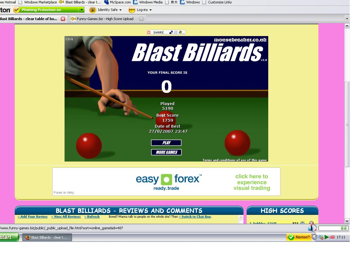 flash scores snooker