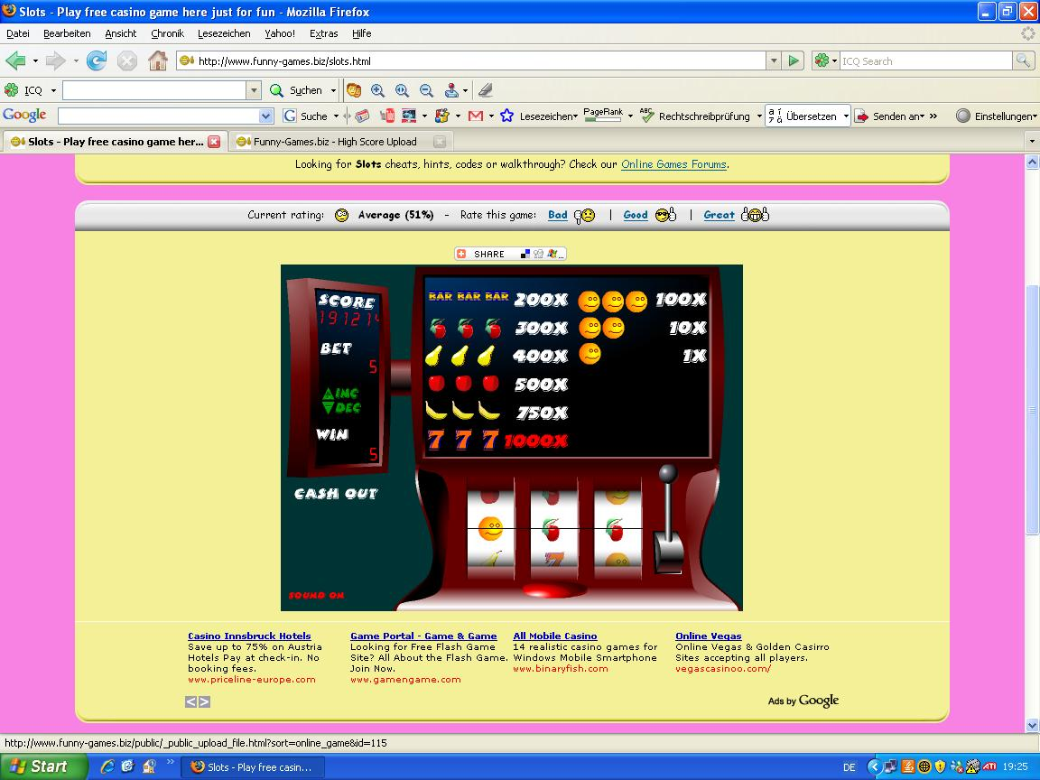 free casino games just for fun