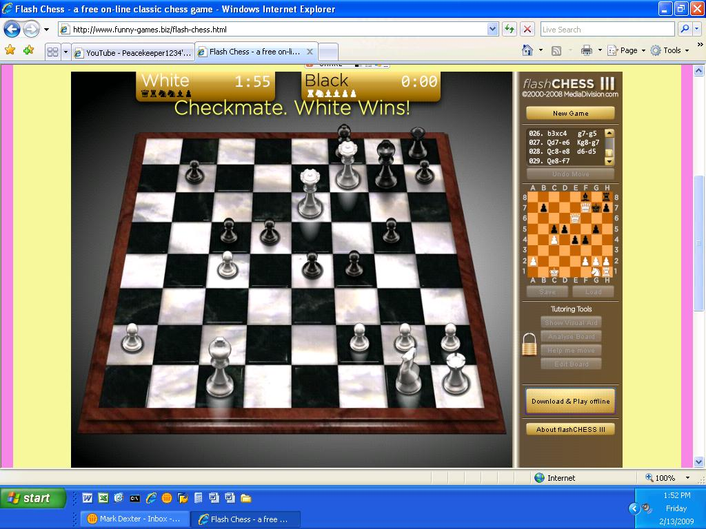 flash chess game