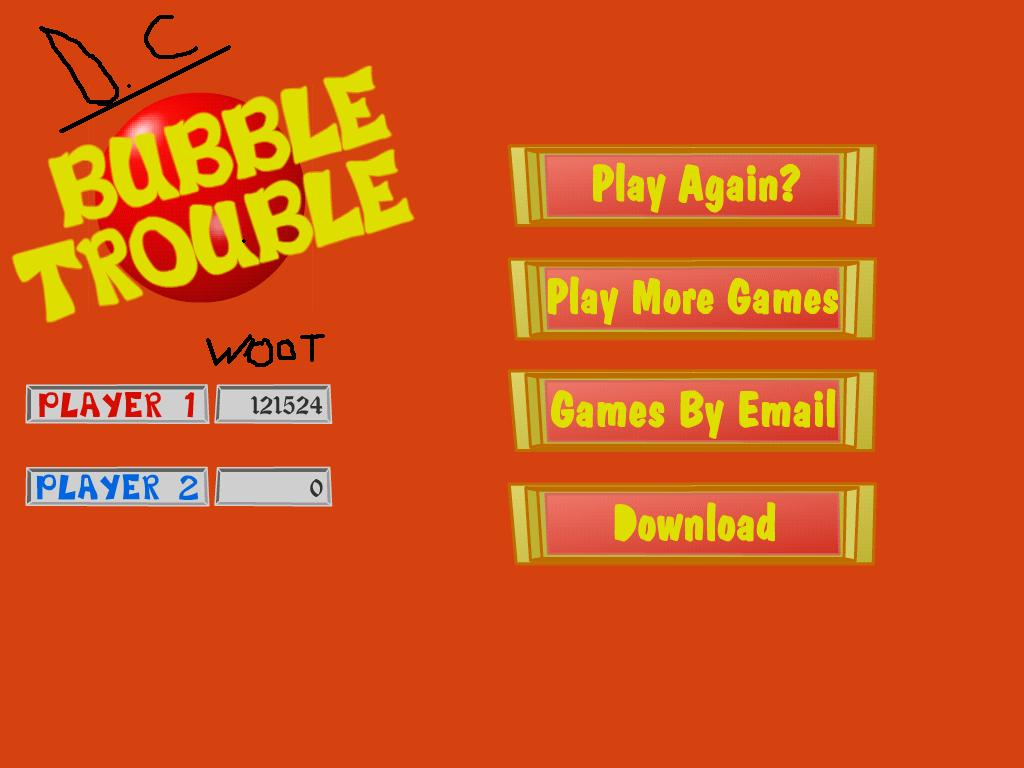 bubble trouble cheats hints