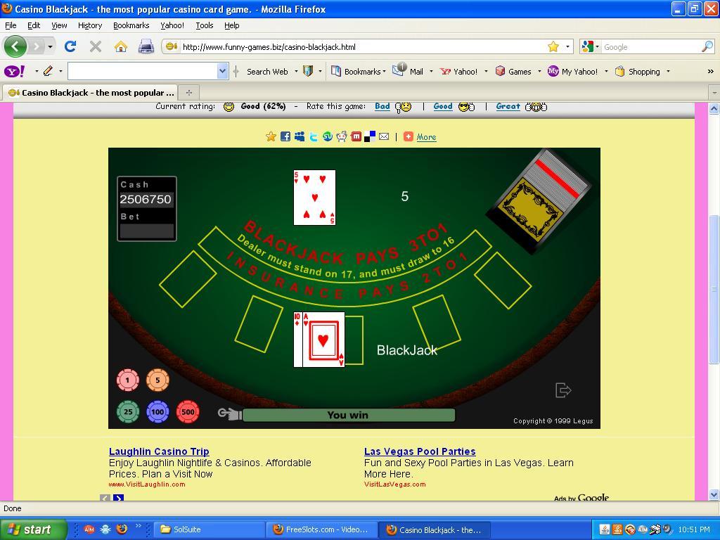 Игра блэкджек казино продлят ли закон о закрытии казино