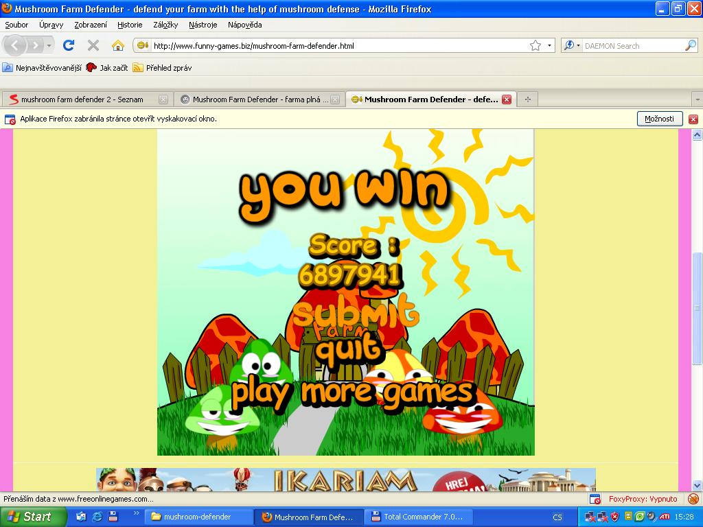 mushroom farm defender primarygames play free online games