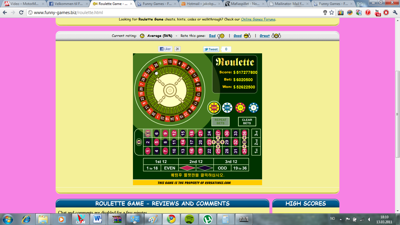 Fun roulette online game download