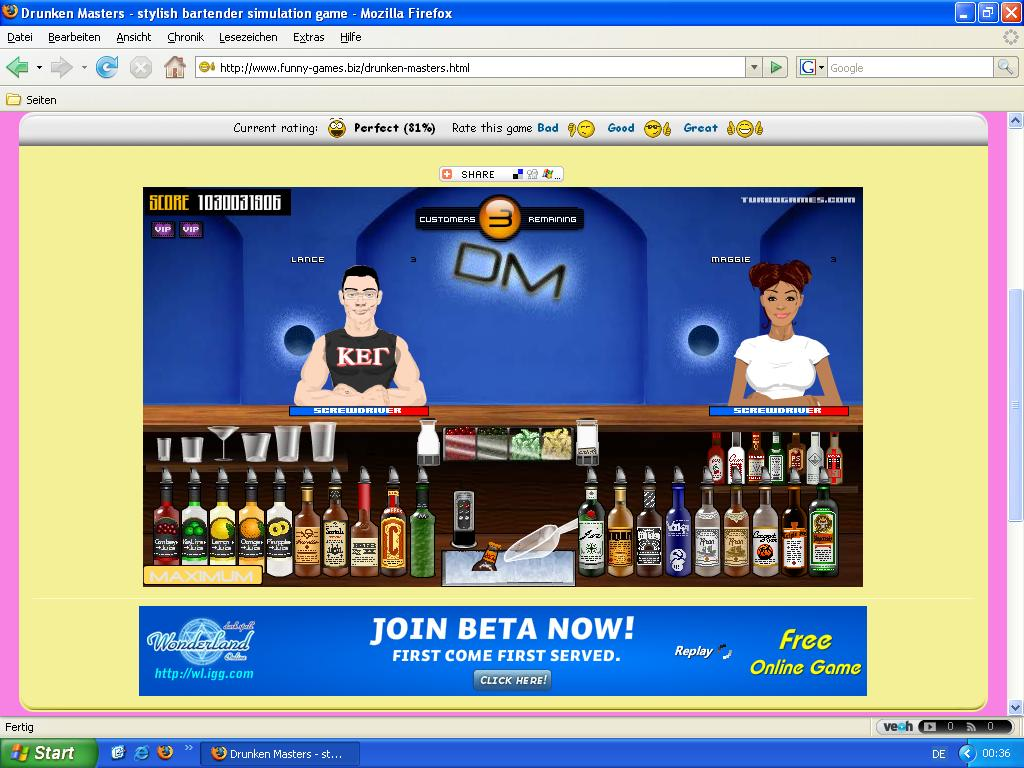 Free Virtual Bartender Game - The best free software for ...  Free Virtual Ba...