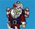 rocket santa collect game