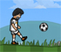 Get to play as Ronald or Messi and score goals!