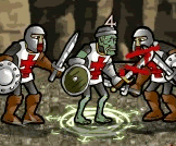 Zombie Knight fight rpg game