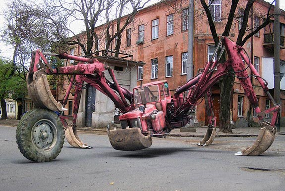 Strange Russian Tractor picture