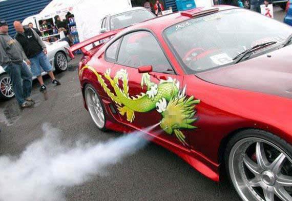 Dragon Car picture