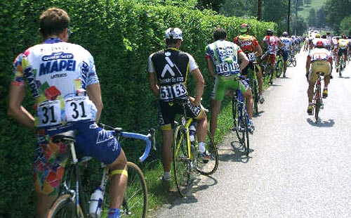 Bicycle Race Pit Stop picture
