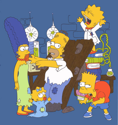 Simpsons Halloween picture