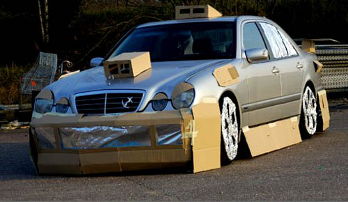 Cardboard Car Mods picture