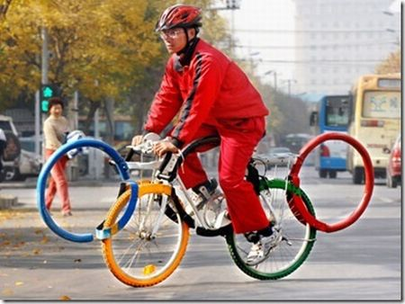 Real Olympic Bike picture