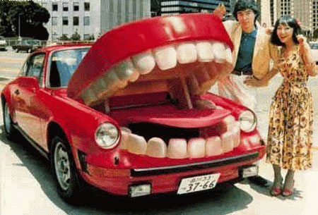 Car With Mouth picture