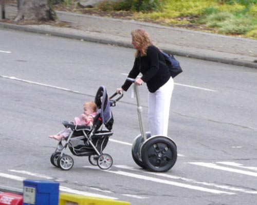 Segway Baby Stroller picture