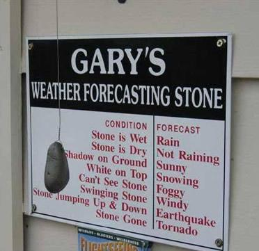 Weather Forecast Stone picture