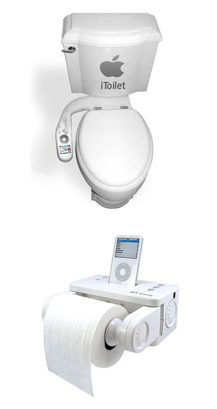 iPod Toilet Accessories picture
