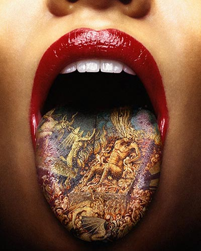 Tongue Tattoo picture