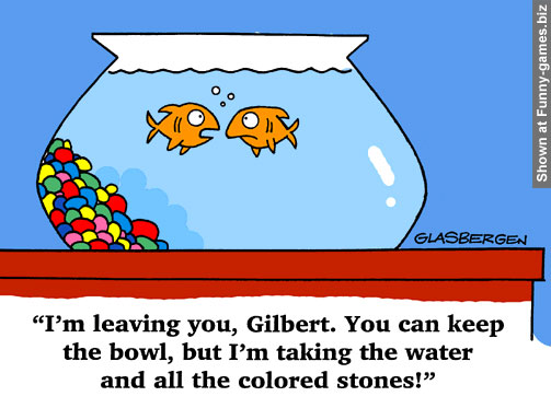 Funny Fish Cartoon picture