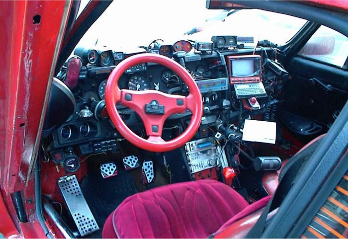 Geeks Dashboard James Bond Car From Inside
