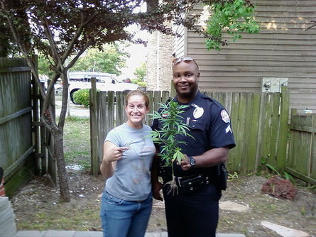 Cop With Weed picture