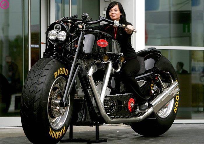 Huge Bike picture