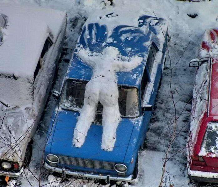 Suicidal Snowman picture