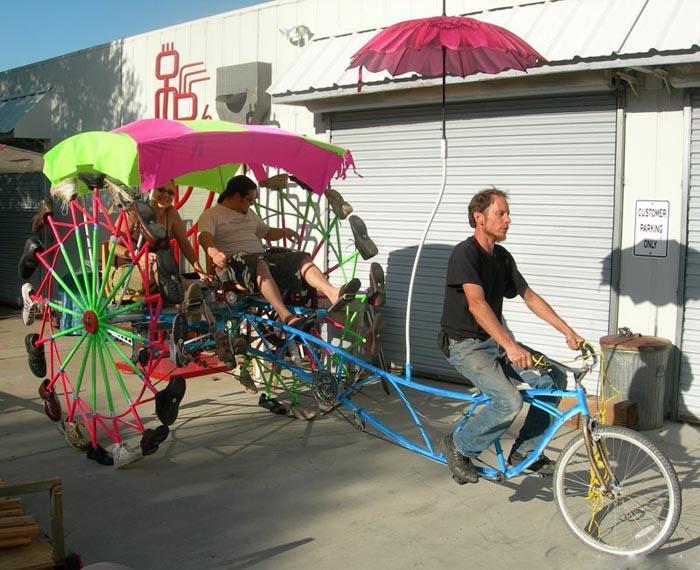 Walking Pedicab picture