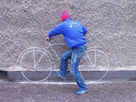 Fake Bike picture