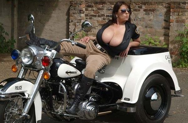 Busty Police Woman picture