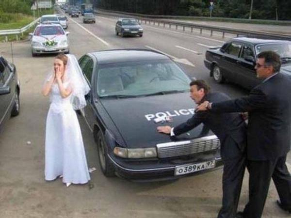 Damaged Wedding picture