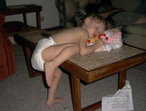 Tired Kid picture