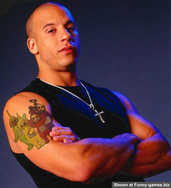 Vin Diesel Telebubies picture