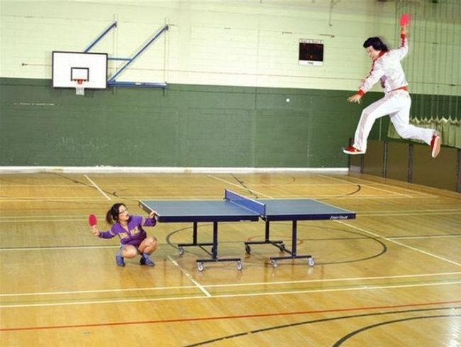 Kung-Fu Table Tenis picture