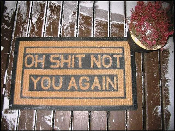 Funny Doormat picture