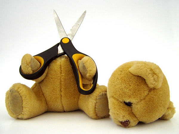 Suicidal Teddy Bear picture