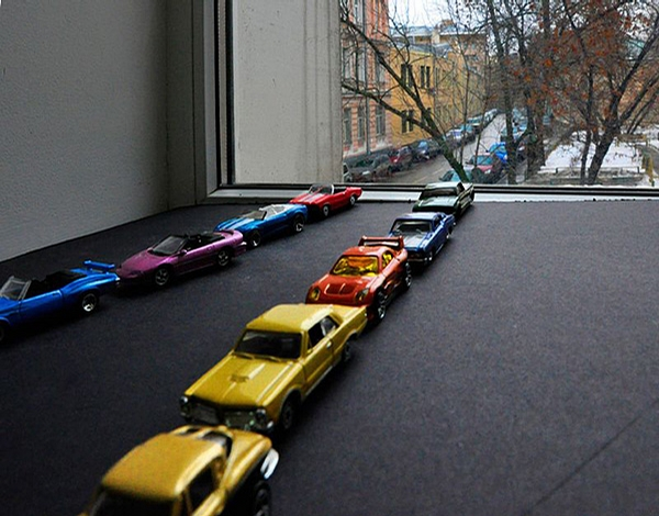 Line of Cars picture