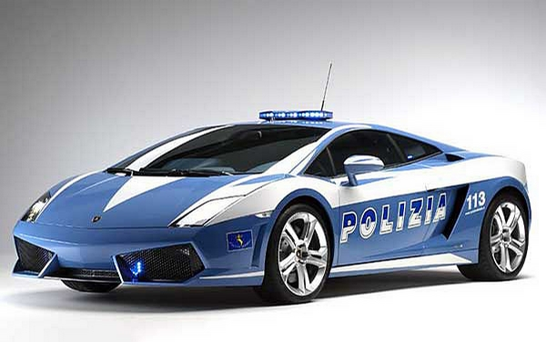 New Police Car picture