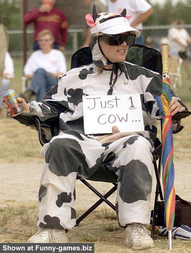 Cow Outfit picture