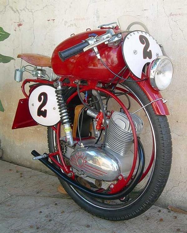 One Wheel Motorbike picture