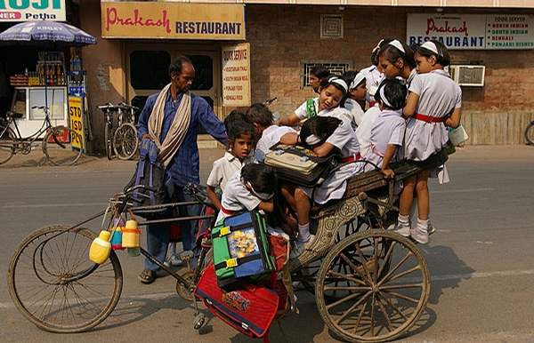 School Bus in India picture