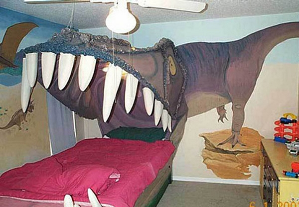 Dinosaur Bed picture