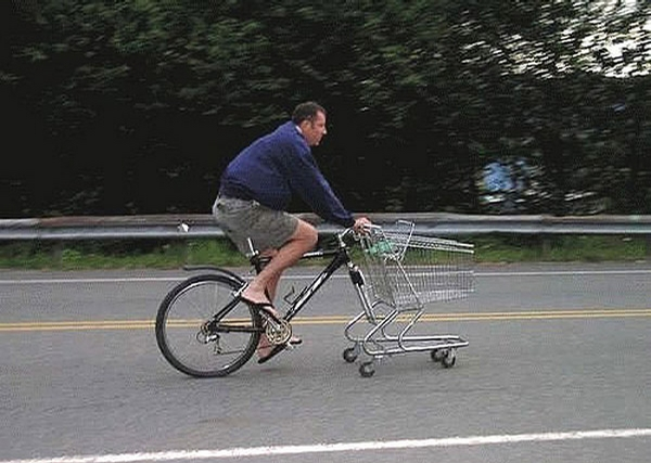Shopping Bike picture