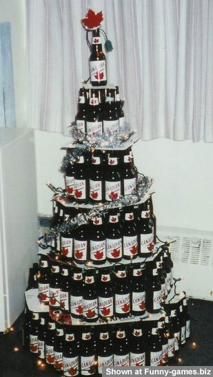 Beer Xmas Tree picture
