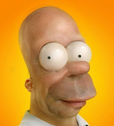 Real Life Homer picture
